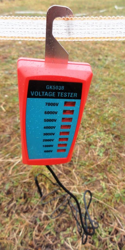 how to use gallagher fence tester