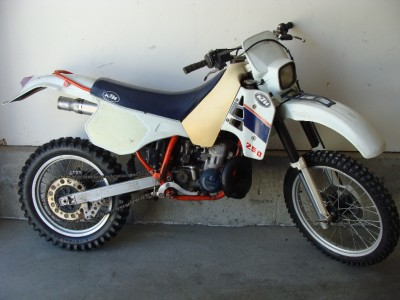 1988 Ktm 250 Foot Pegs Exc Mx Gs 250 Ebay