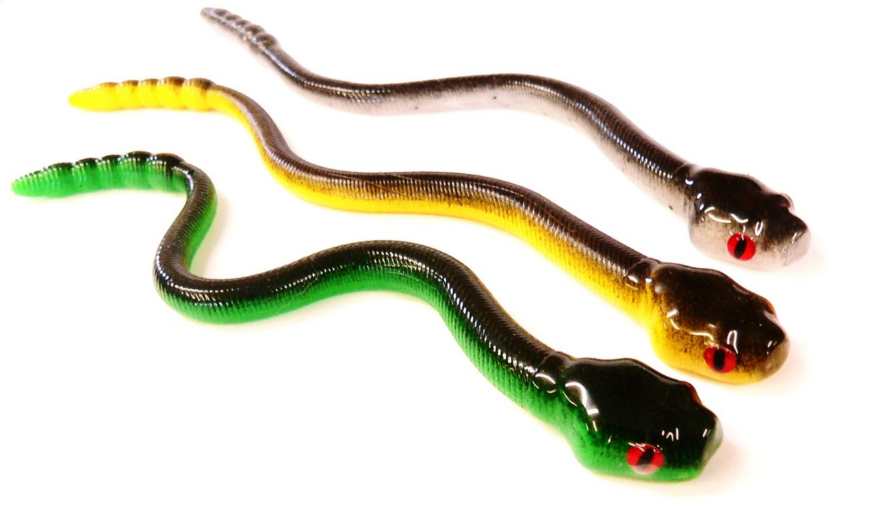 Bogs mamba rattle snake lure bass pike bait 8 inch for Snake fishing lure