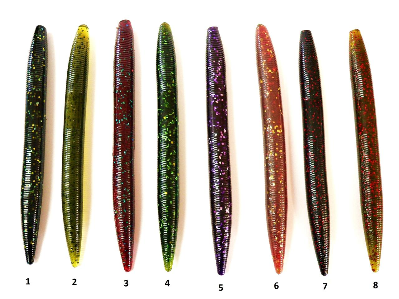 bogbaits 6 inch fat senko style stick baits stix lure bass