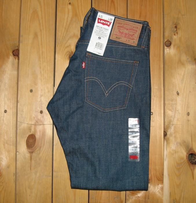 Levi's Men's 514 Slim Straight Fit Jeans Rigid Green #0117 NWT FREE SHIPPING