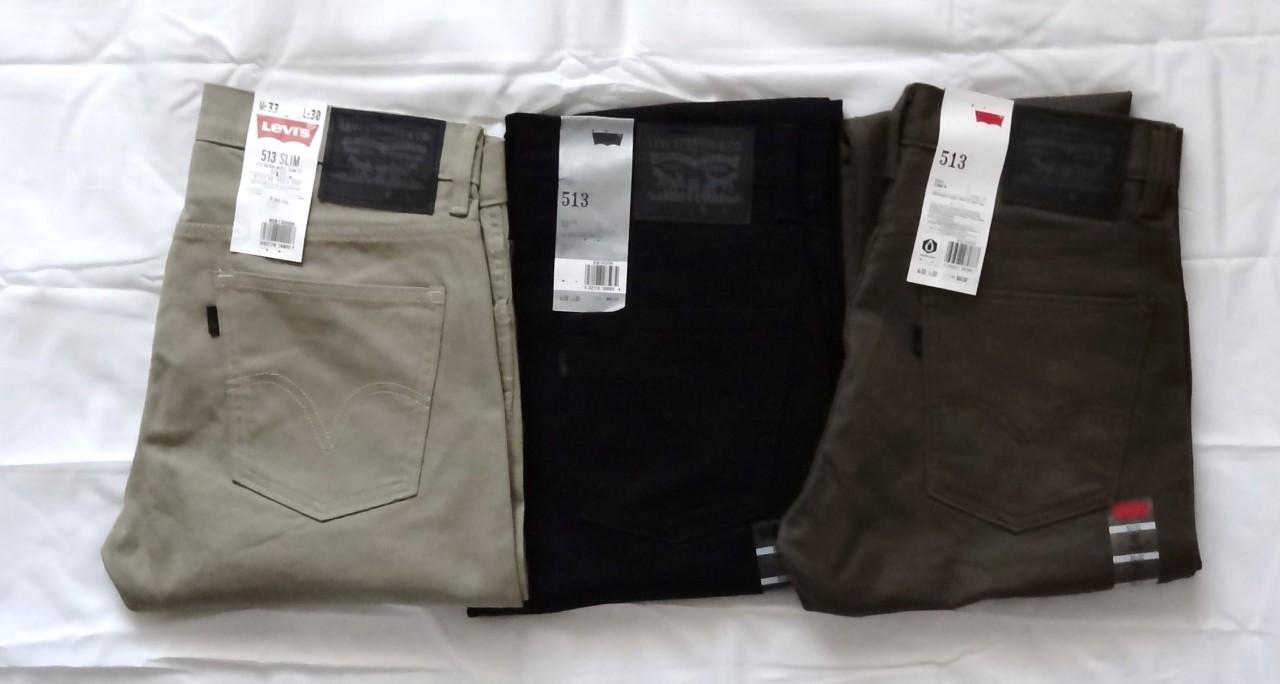 Mens Levis 513 Jeans