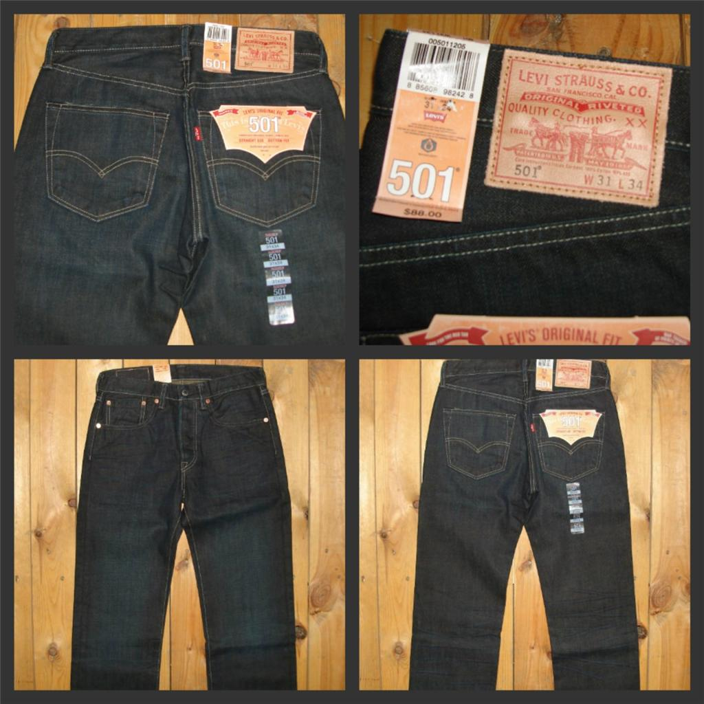 Levi's Men's 501 Premium Original Fit But