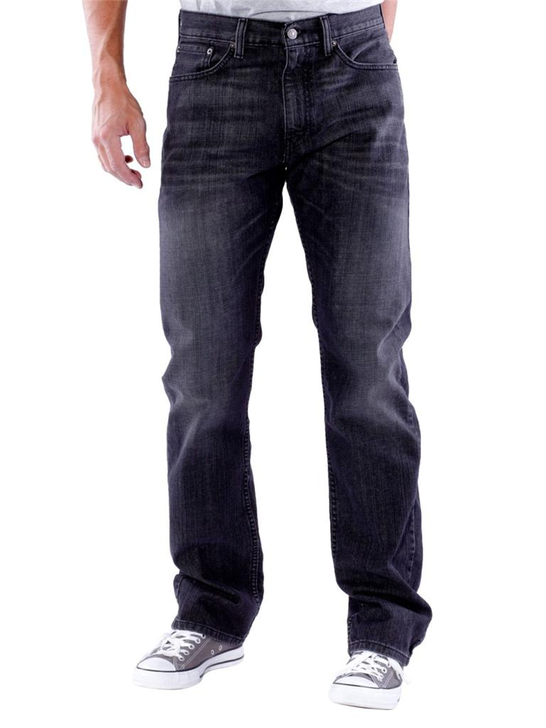 Levi 39 s men 39 s 505 straight fit jeans house cat 0250 ebay House jeansy
