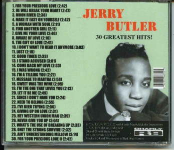 Jerry Butler - Simply Beautiful