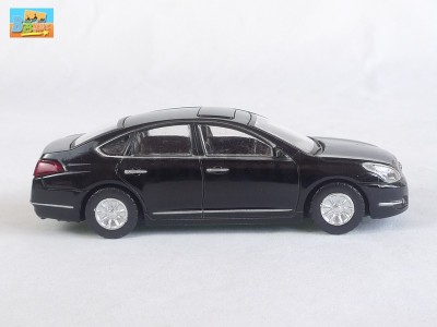 new rastar 1 43 die cast nissan teana j32 altima black. Black Bedroom Furniture Sets. Home Design Ideas