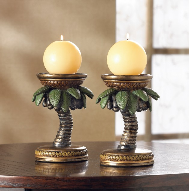 Decorative Art Candle Holder Home Accent Table Decor