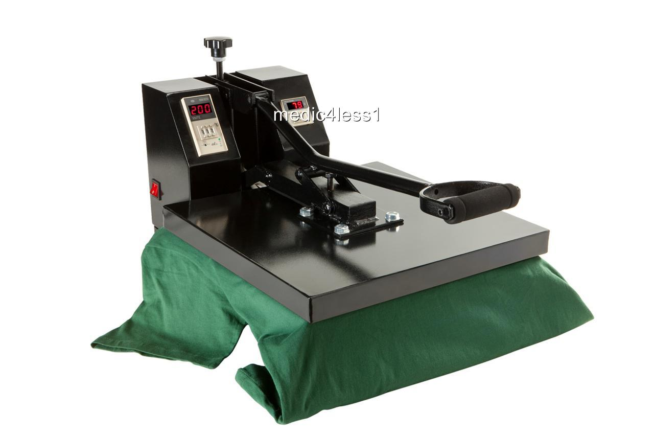 15 x15 sublimation t shirt heat press machine transfer ebay for Heat pressing t shirts
