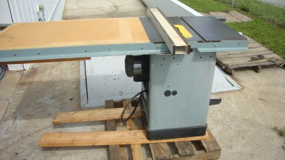 Delta unisaw 10 3 hp single phase table saw with for 52 table saw fence