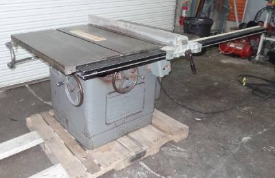Delta rockwell 12 14 table saw 34 350 5 hp 3 phase 52 for 52 table saw