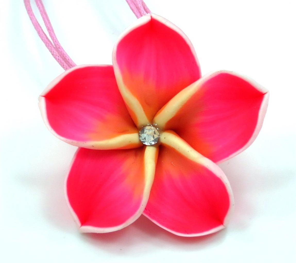 Beautiful plumeria hawaiian flower pendant charm matching necklace beautiful plumeria hawaiian flower pendant charm matching necklace izmirmasajfo Image collections
