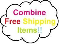 Combine Free Shipping Items