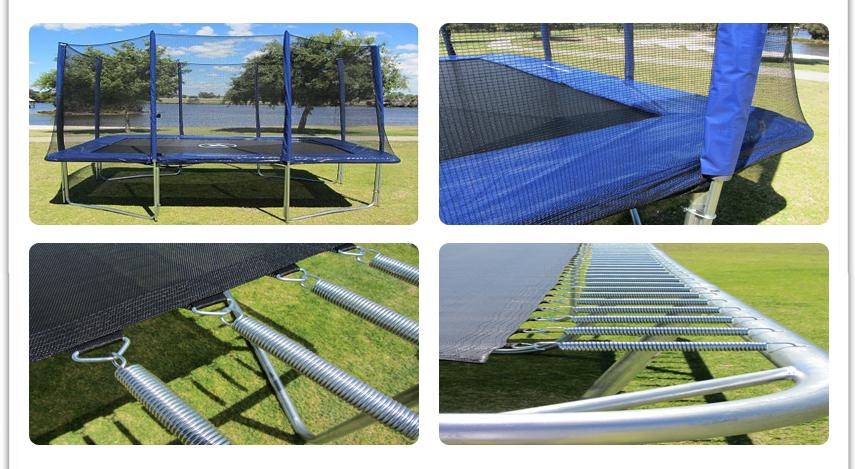 8ft X 12ft Rectangle Rectangular Trampoline Enclosure