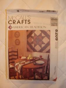 McCalls 8209 Quilted Kitchen Accessories Apron Uncut   eBay