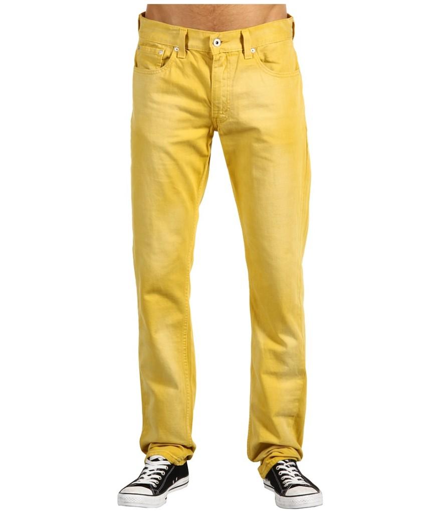 levis 511 herren jeans skinny gelb gr waehlbar ebay. Black Bedroom Furniture Sets. Home Design Ideas