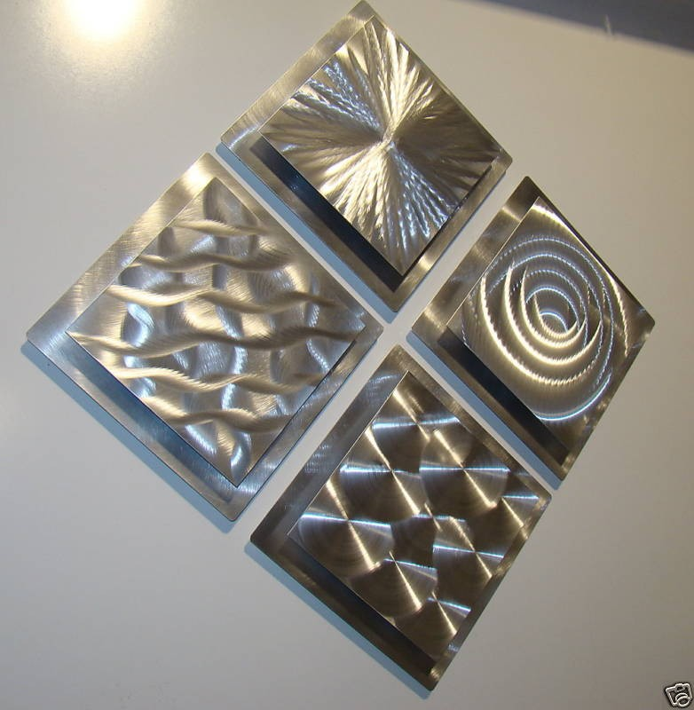 silver metal wall art original home decor sculptures jon allen ebay