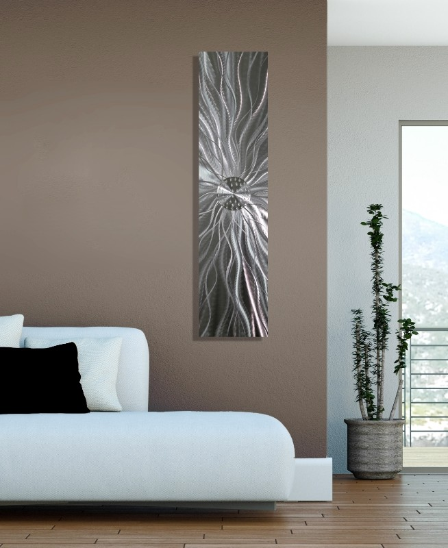 contemporary abstract metal wall art home decor