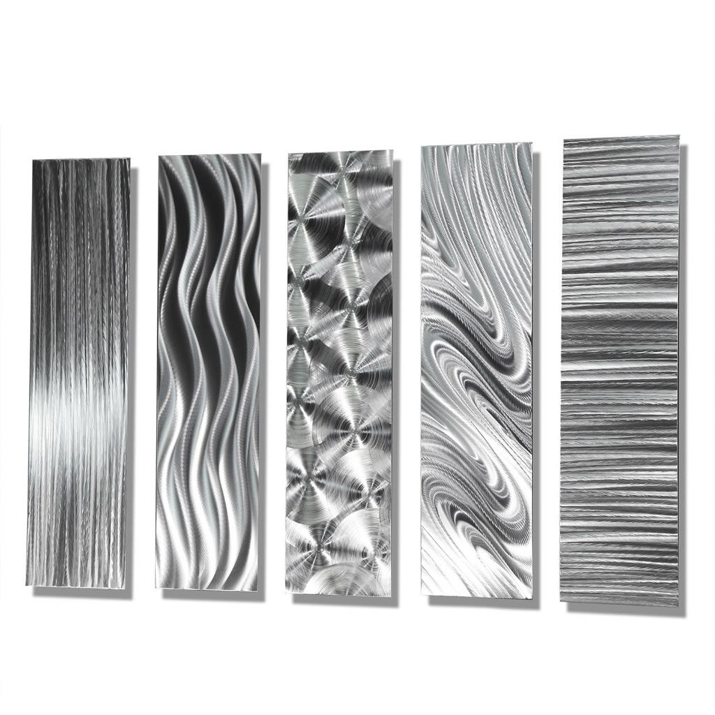 abstract metal wall art accents by jon allen 5 easy pieces ebay
