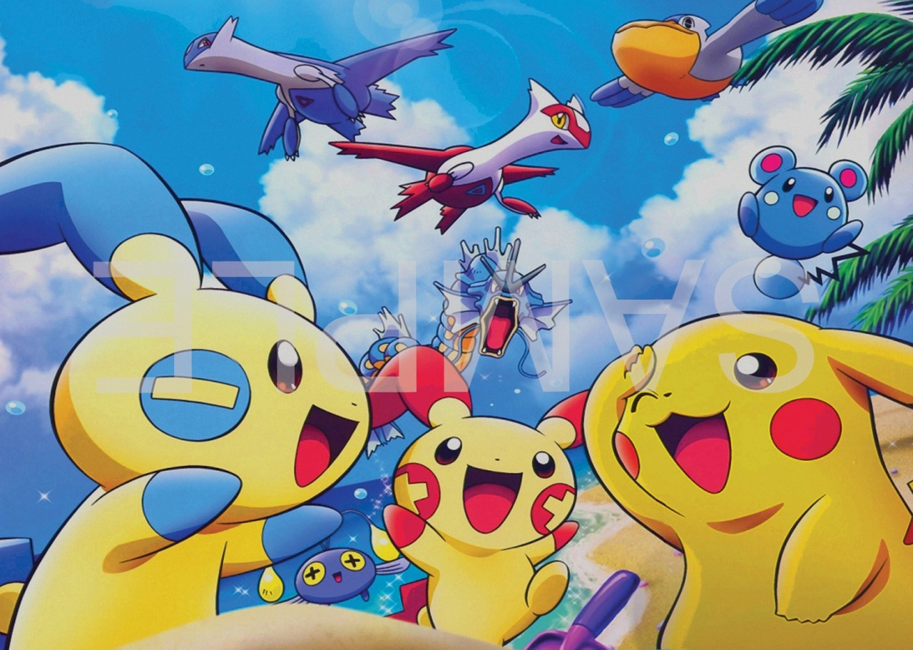 It is a picture of Current Pokemon Posters Printable
