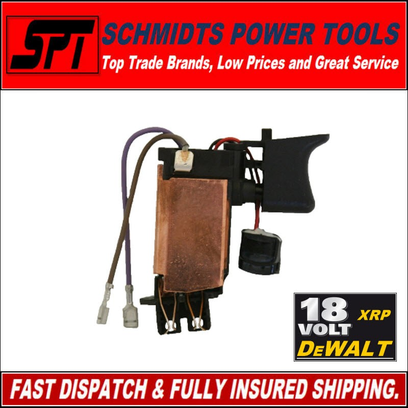 DeWALT-18V-XRP-DCD950-DCD970-DRILL-TRIGGER-SWITCH-REPLACEMENT-N020621SV-DCD940