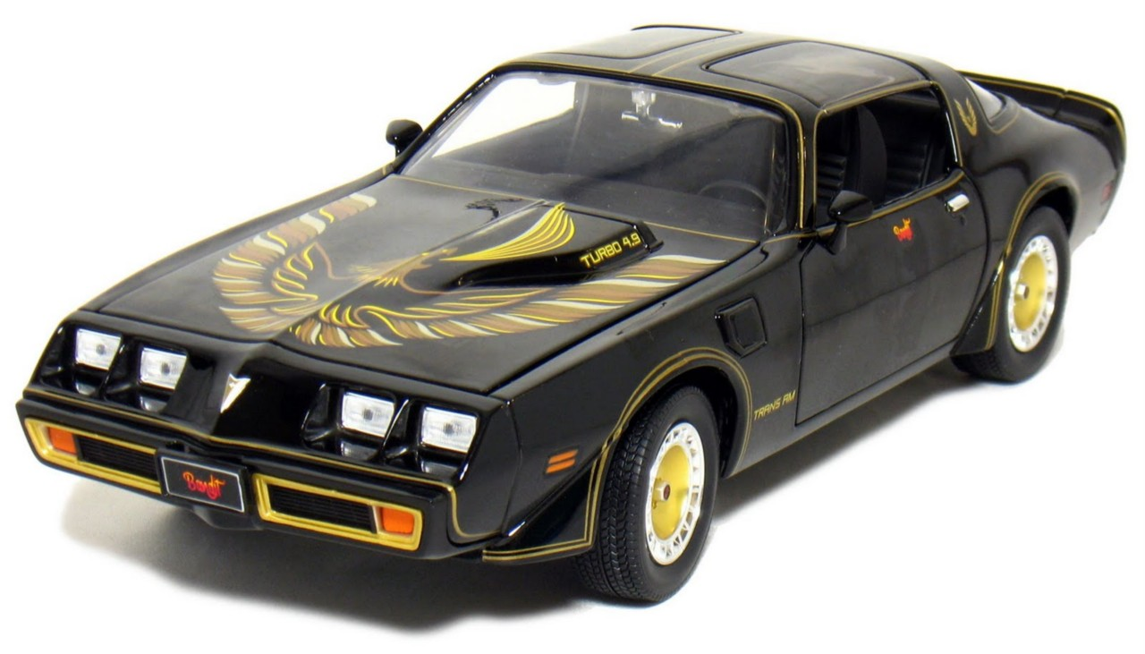 Movie-Cars-DIECAST-1-18-SCALE-Smokey-BANDIT-GREENLIGHT