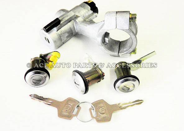 Ignition-Doors-Boot-Lock-For-Nissan-Pulsar-N13-New
