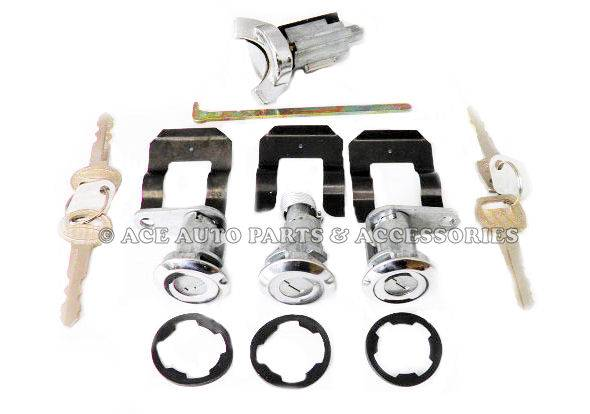 New-Ignition-Doors-Boot-Lock-Set-For-Ford-XY-XA-XB-Falcon-Fairmont-GT