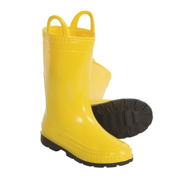 New Rubber Rain Boots Toddler Girl Boy Kamik Puddlepal