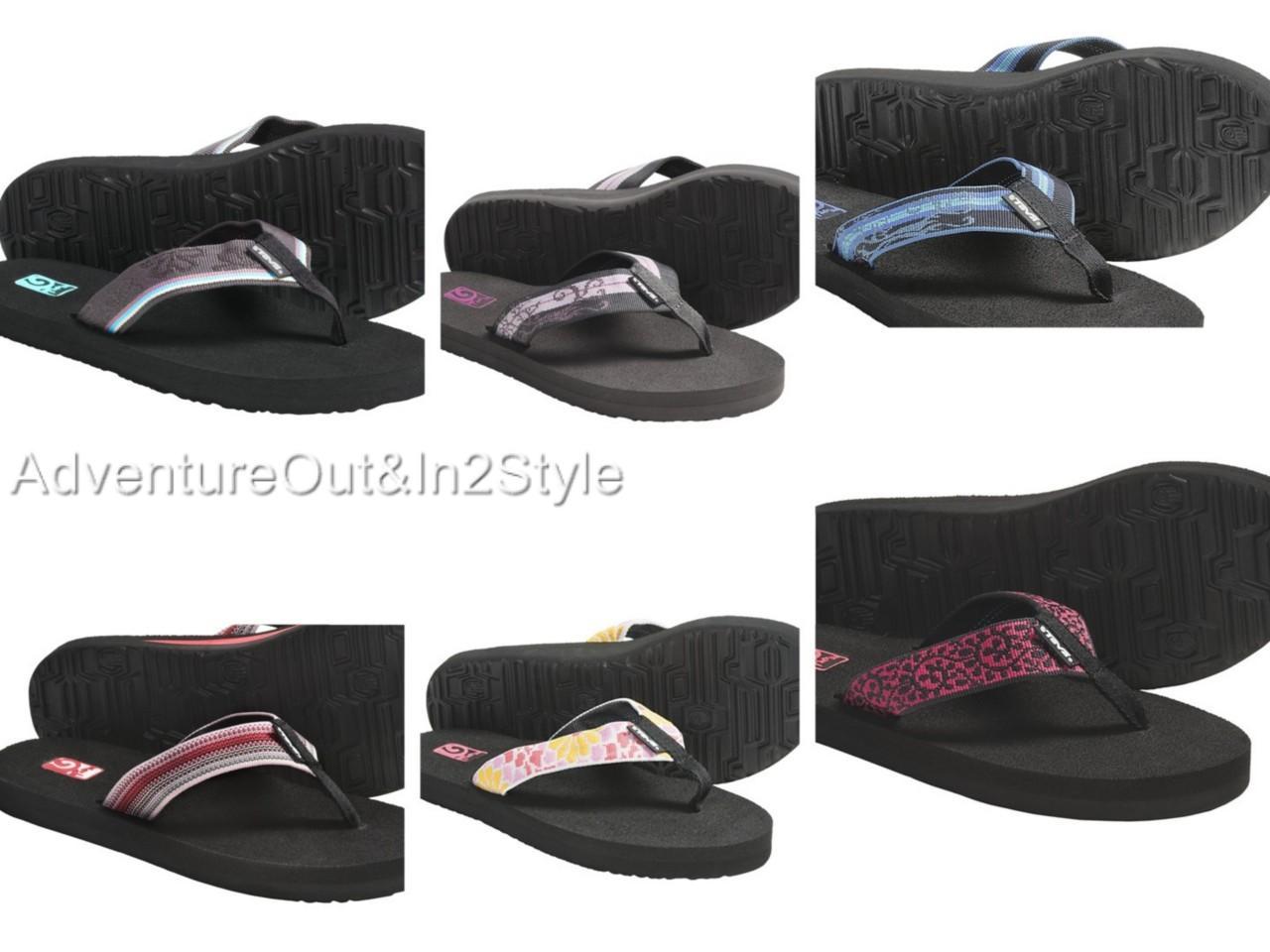 NEW-Teva-Mush-II-Sandals-Flip-Flop-Womens-VARIETY-SIZES-amp-COLORS-MSRP-25