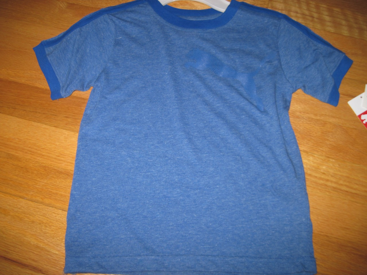 Puma Very Soft T Shirt For Boys Size 5 Blue Available Nwt