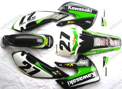 Kawasaki Klxplastics