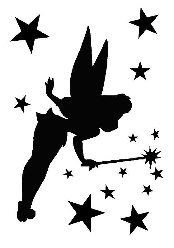 tinkerbell 2 airbrush wall art paint stencil genuine
