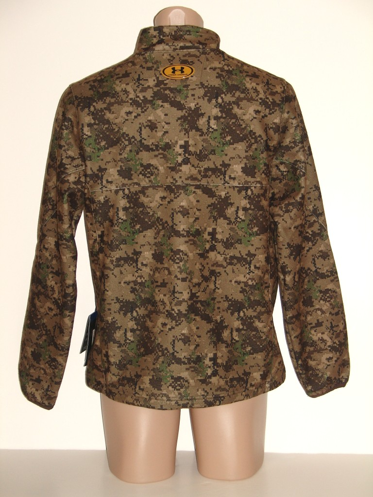 NEW NWT UNDER ARMOUR DIGITAL CAMO HUNTING PULLOVER, L