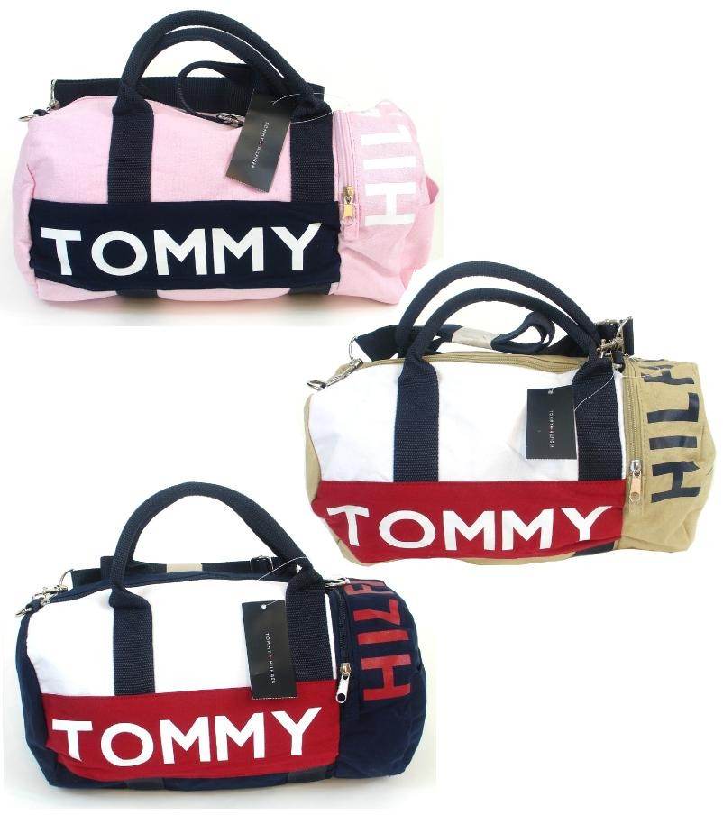 Image Is Loading NEW NWT TOMMY HILFIGER MINI DUFFLE BAG GYM