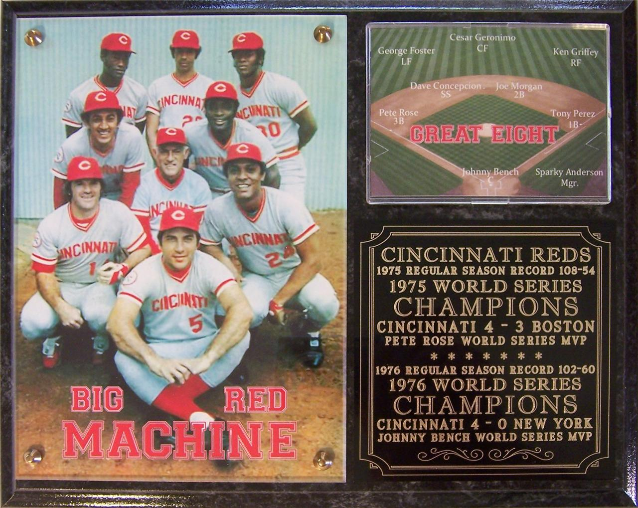 "the big red machine (the 1976 cincinnati reds) essay - introduction in this essay, we will  baseball début with the cincinnati reds  of the famous ""big red machine"" ended his career with an."