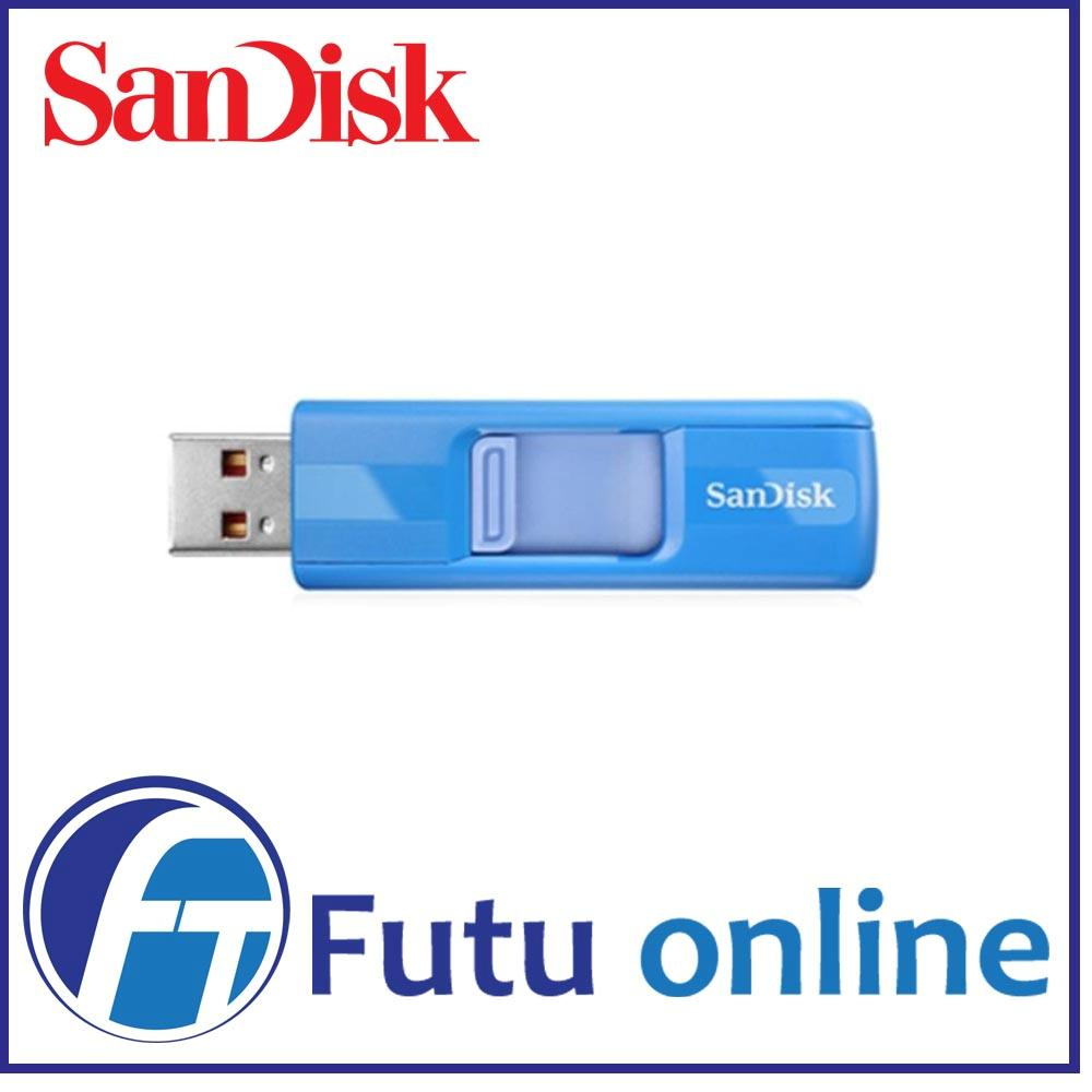 Sandisk-Cruzer-8GB-Blue-USB-2-0-Flash-Thumb-Drive-Capless-Retractable-PC-Mac