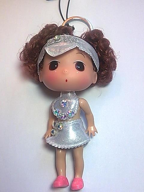 Big Head Doll with key holder & phone strap -4.5 inch A5
