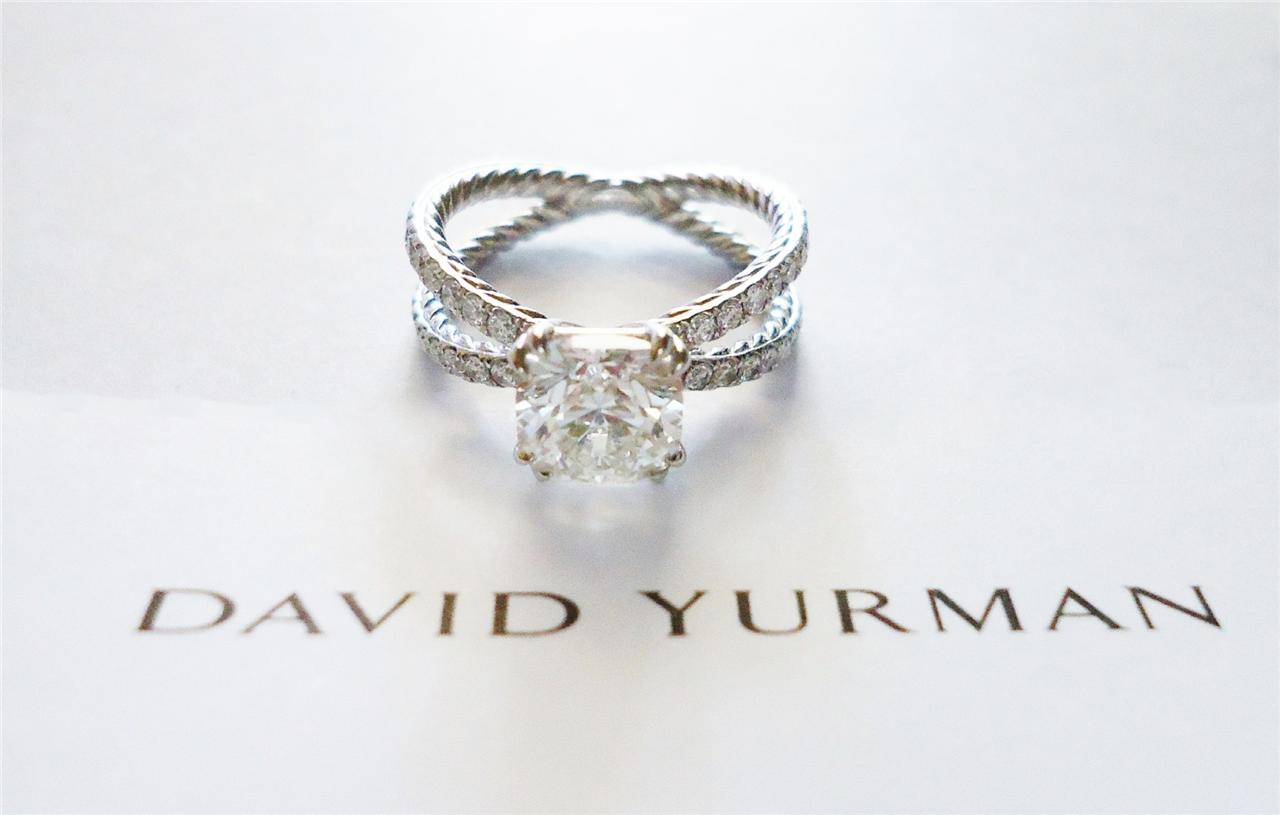 David Yurman Crossover Ring Used