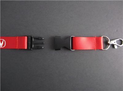 ACURA Lanyard Keychain Quick Release INTEGRA RSX TSX TL ILX DA DC2 MDX - RED | eBay