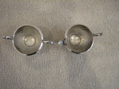 EP Copper Lead Mounts http://www.popscreen.com/p/MTI5ODEwNjY4/SILVER-E-P-COPPER-PLATE-CANADA-CREAM-SUGAR-Beautiful-eBay