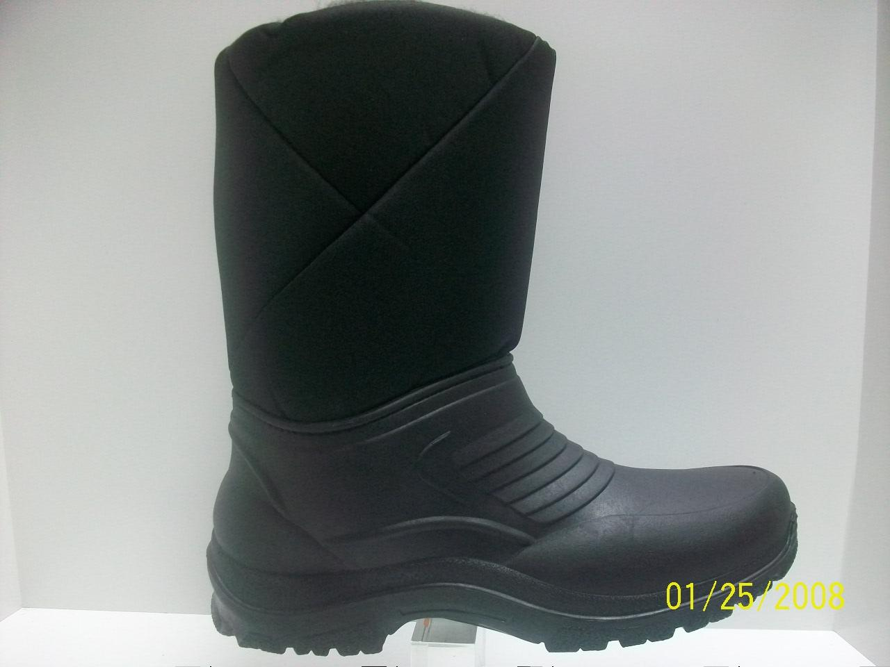 black mens wellington boots fleese linned snow wellies ebay