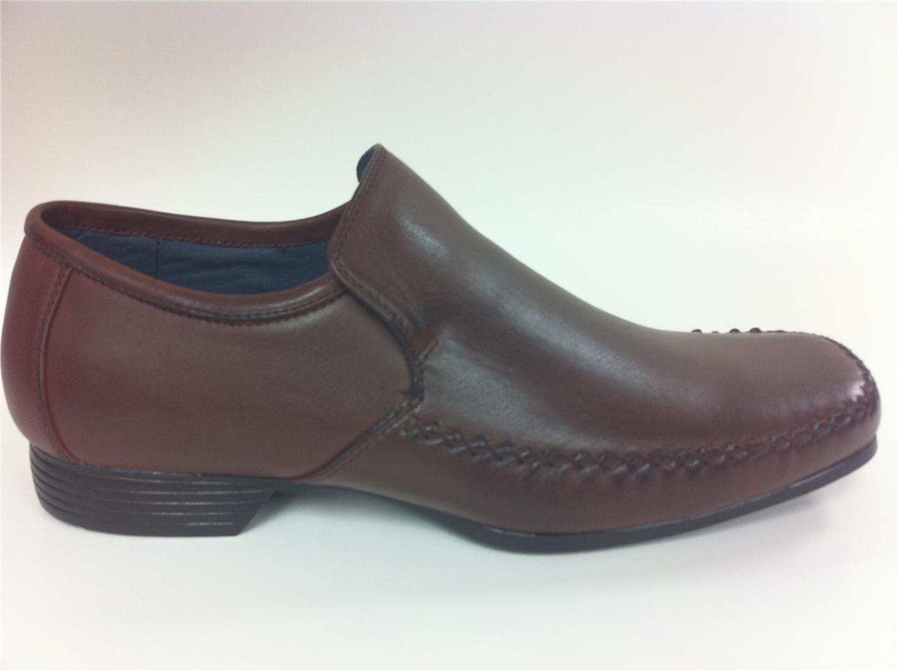 Mens-Shoes-Slip-On-sizes-uk-6-7-8-9-10-11-12