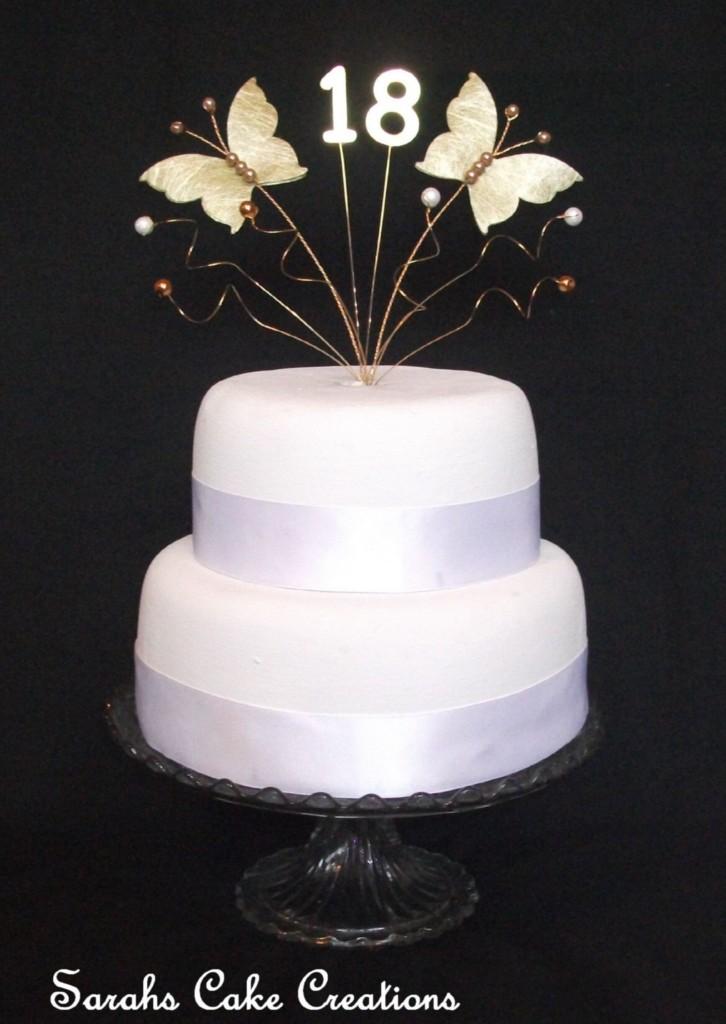 Butterfly Cake Decoration Uk : Butterfly Birthday Cake Topper Decoration eBay
