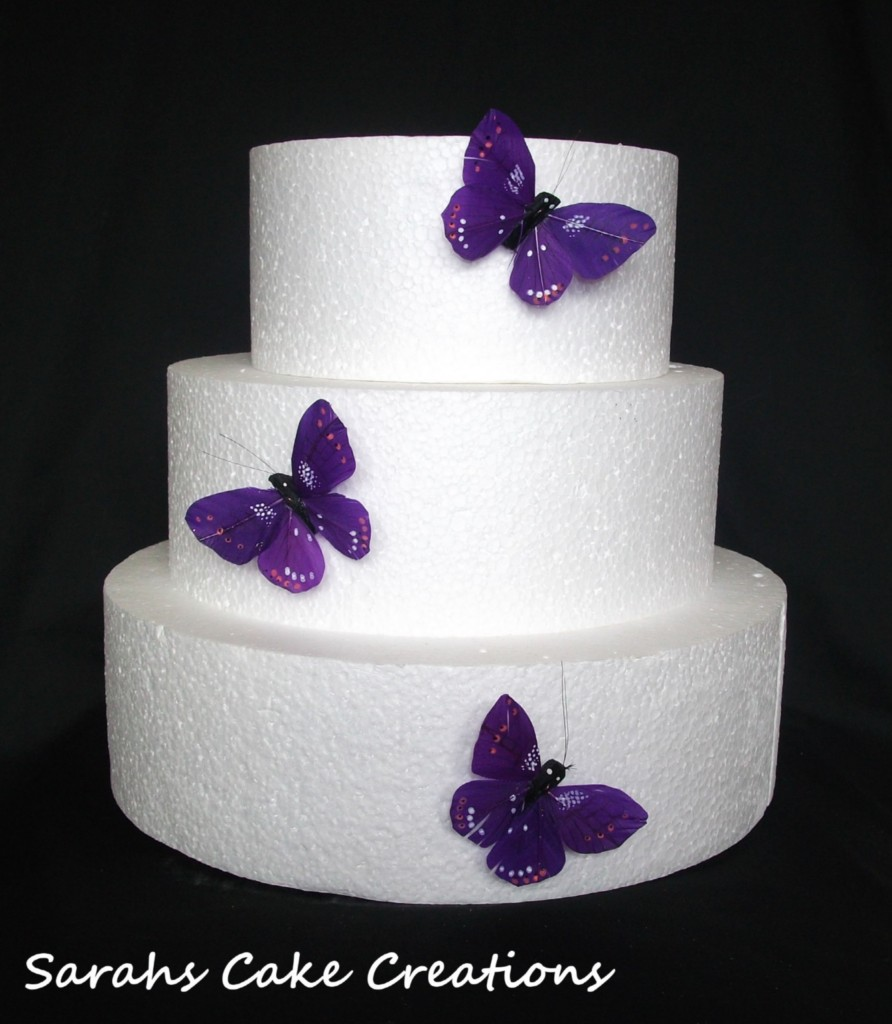 Butterfly Cake Decoration Uk : Butterfly Side Cake Toppers Decorations Birthday Weddingsx3