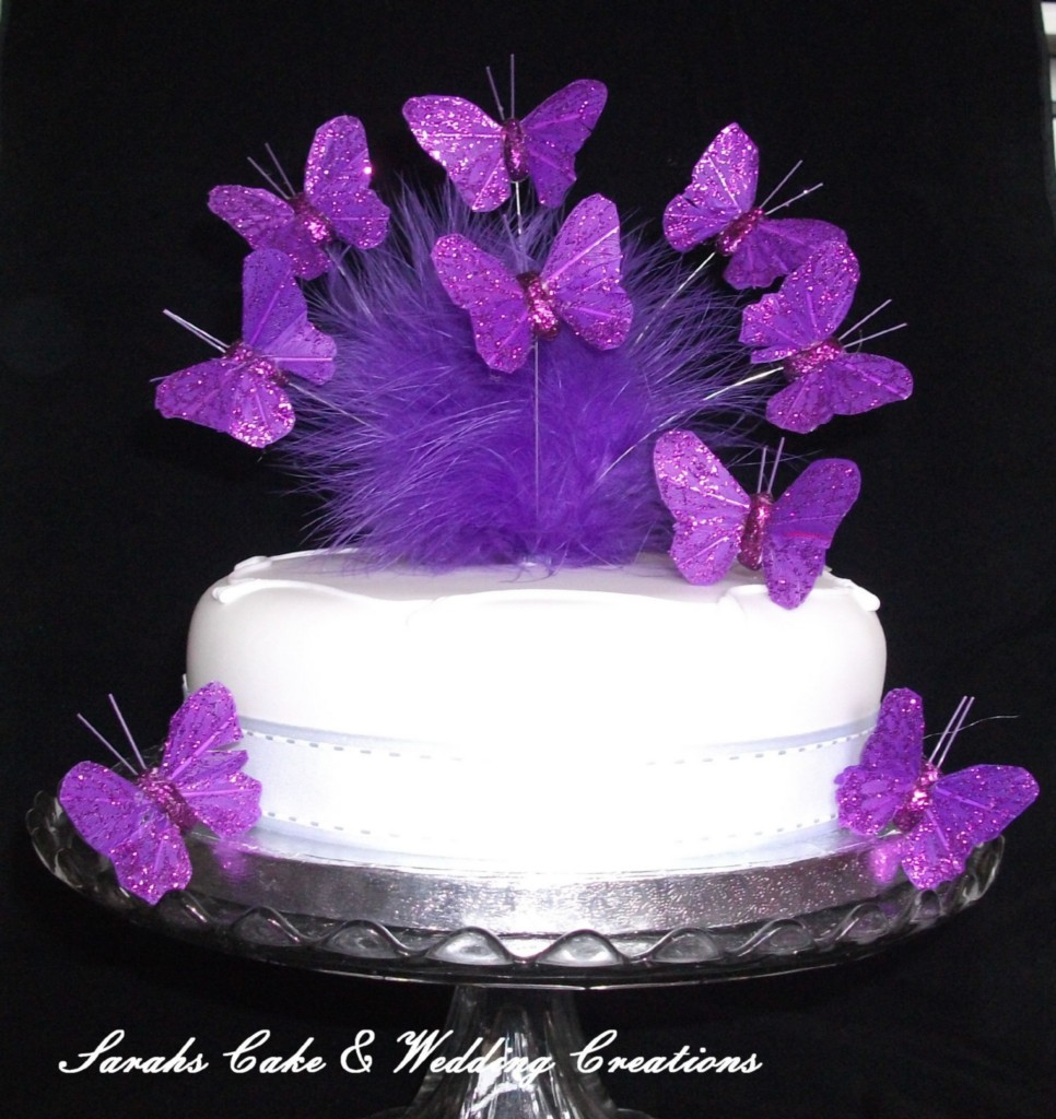Butterfly Cake Decoration Uk : Butterfly Cake Topper, Wedding Birthday Anniversary ...