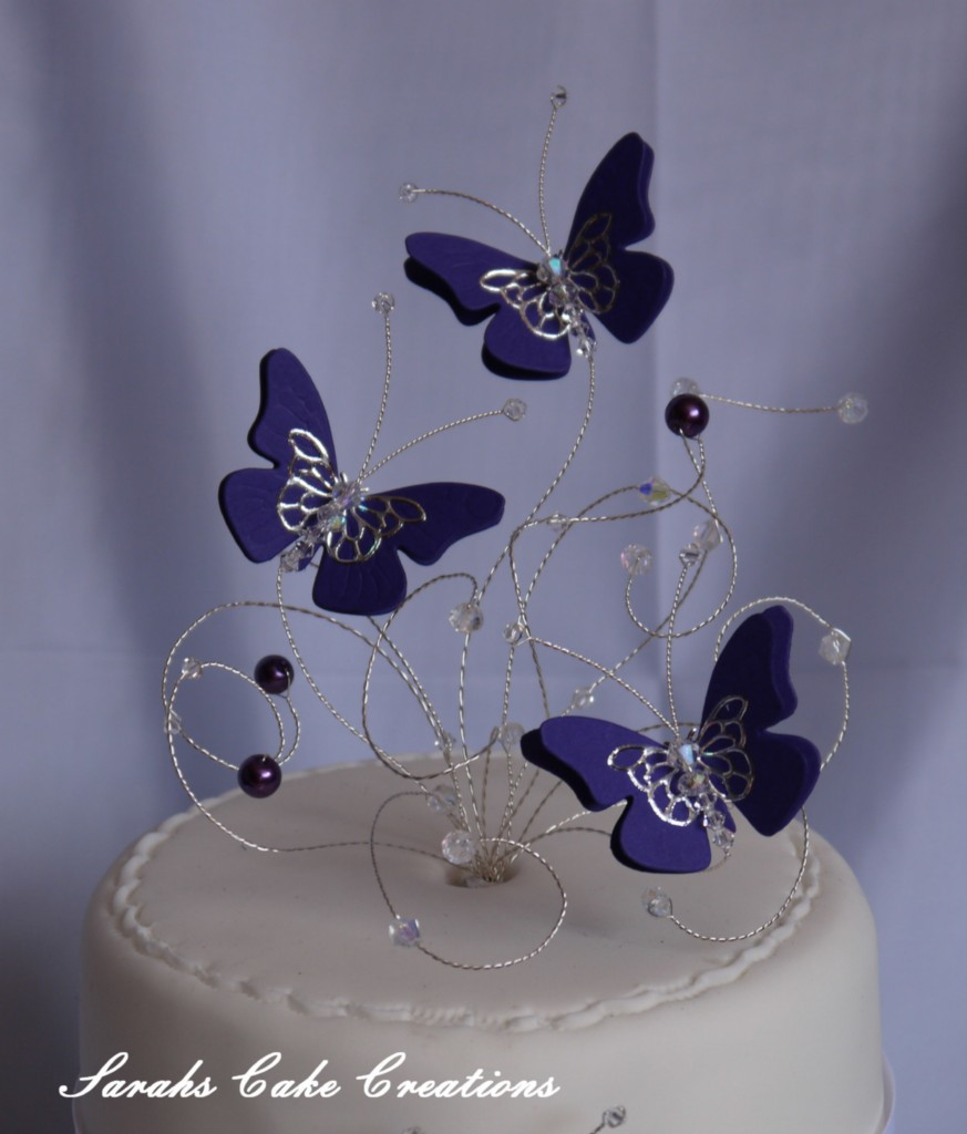 Butterfly Cake Toppers Uk
