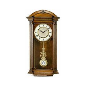 Bulova c4331 hartwick chiming pendulum wall clock ebay for Bulova pendulum wall clock