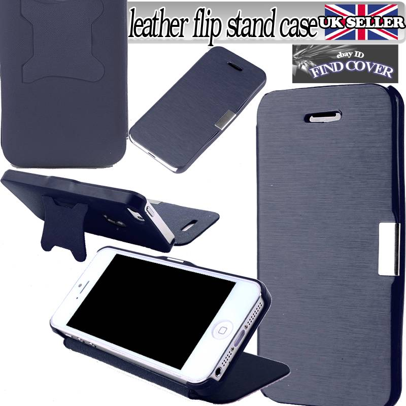 NEW ULTRA SLIM FITTED COVER FLIP LEATHER Magnetic STAND CASE FOR iPHONE Samsung