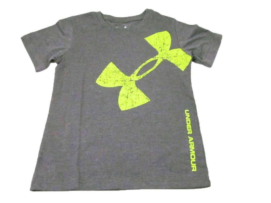 Under armour boys kids shirt top t shirt short sleeve for Under armour shirts for kids