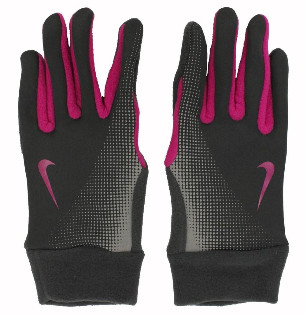 Nike Gloves Key Pocket: Womens Nike Thermal Running Gloves Fleece Lined Key Pocket